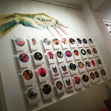 Bacanal art wall 1
