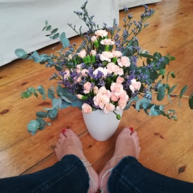 how to start a bouquet 7