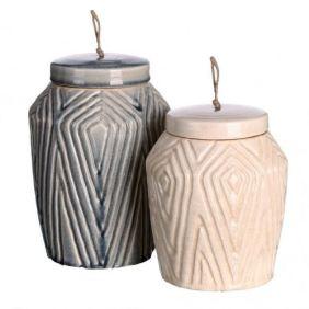 jarrones de ceramica