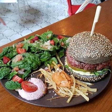 hamburguesa santa anita