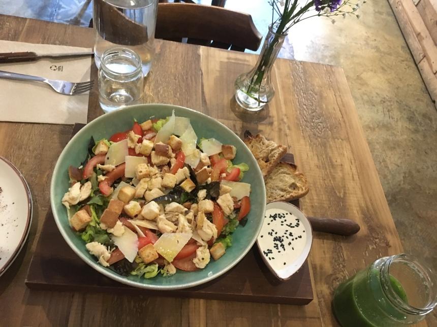 Chicken Salad Morning Glory