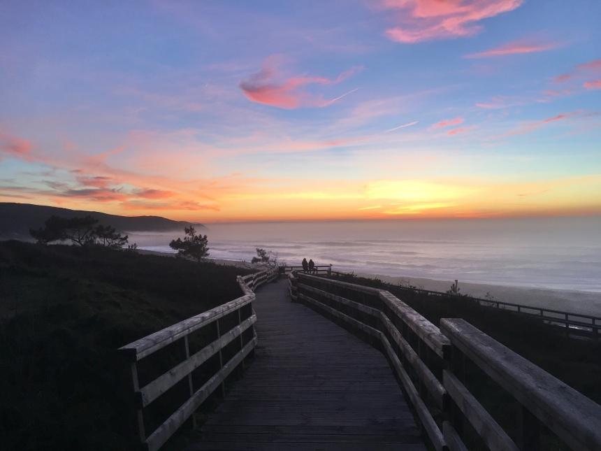 Praia Doniños Sunset
